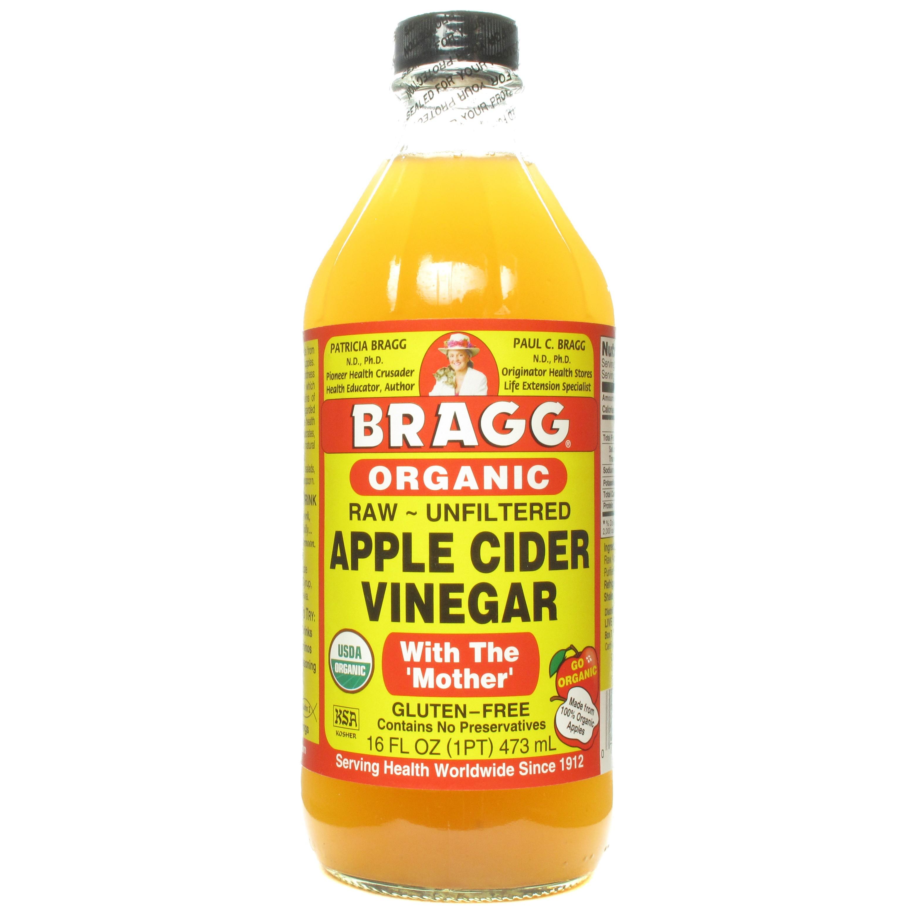 Bragg Organic Raw Apple Cider Vinegar 16 Oz Urbanmakes