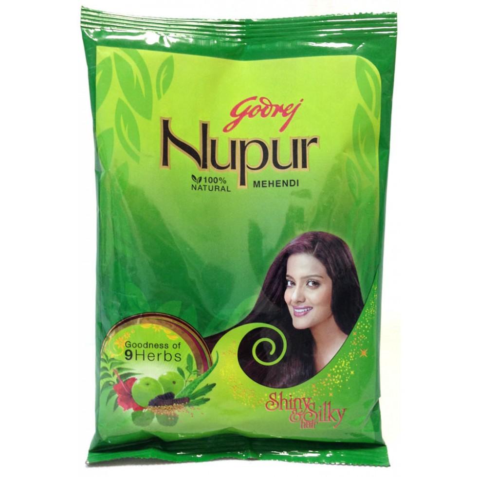 Nupur Henna: Godrej Nupur 100 % Natural Mehendi (Henna)